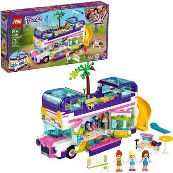 10. LEGO Friends Friendship Bus 41395 LEGO Heartlake City Toy Playset