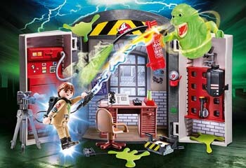 5. PLAYMOBIL Ghostbusters Play Box