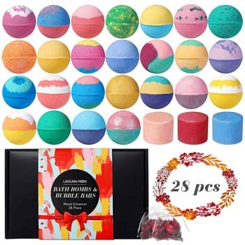 10. Lagunamoon Bath Bombs Gift Set