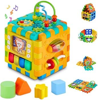 10. Sytle-Carry Baby Activity Cube Toddler Toys