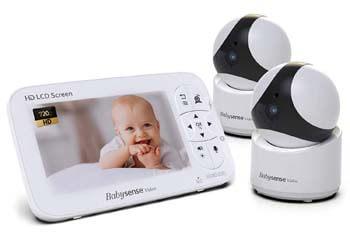 """5. Babysense Baby Monitor - 720P 5"""" HD Display"""