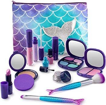 10. Make it Up Mermaid Collection Realistic Pretend Makeup Set (NOT Real Makeup)