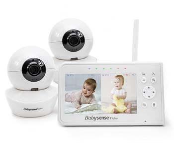 4. Baby Monitor, Babysense 4.3