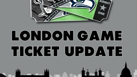 LONDON 2018 – TICKET UPDATE (LATE MAY)