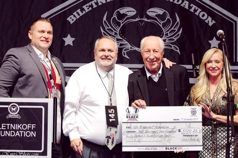 2019 Donation to the Biletnikoff Foundation