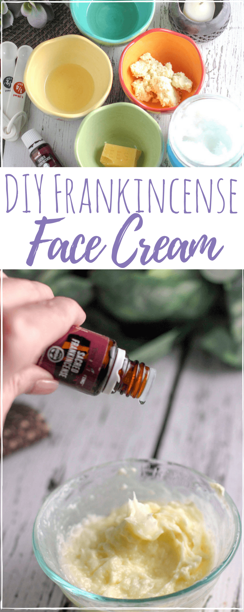 DIY Frankincense Face Cream | Firming and Tightening!