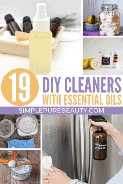 19 DIY Cleaners with Essential Oils
