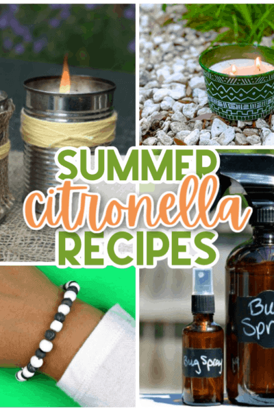 15 Citronella Recipes and DIYs for Summer