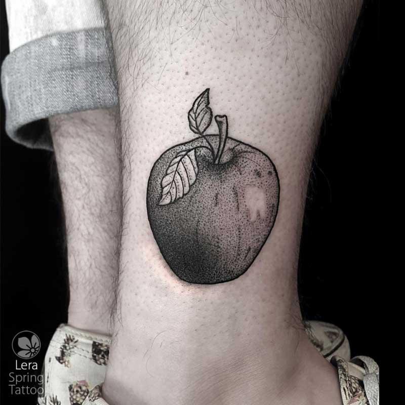 קעקוע תפוח