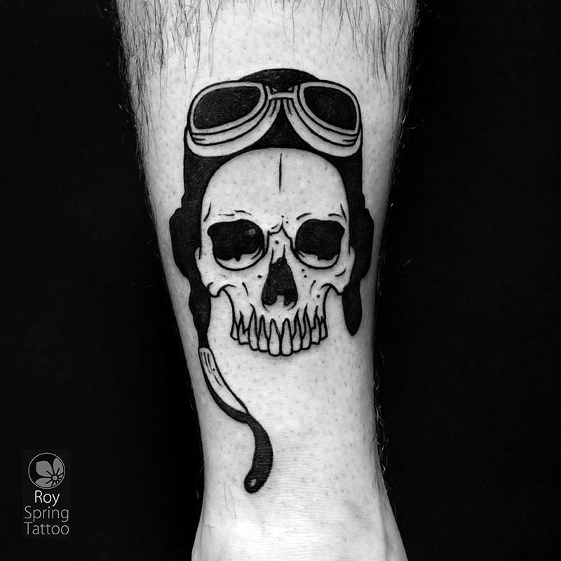 pilot tattoo