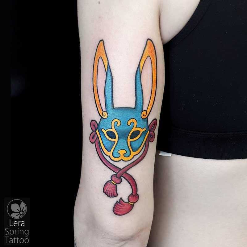 mask tattoo