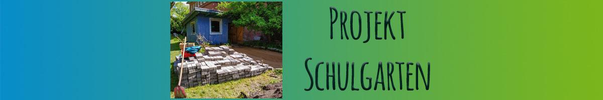 Schulgarten – es geht richtig los