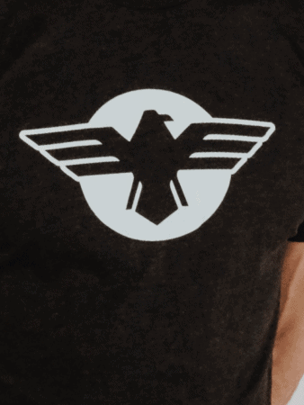 Men's Crew Eagle Tee