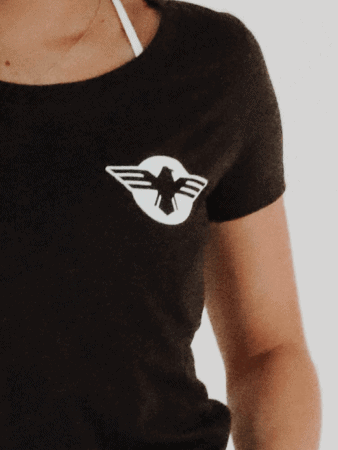 Woman's Scoop Eagle Tee