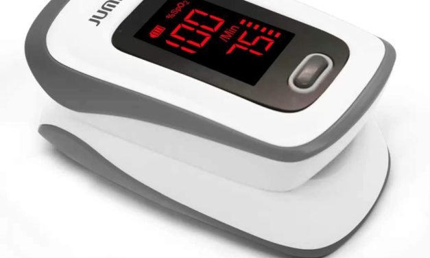 Fingertip Pulse Oximeter Peace with Knowledge