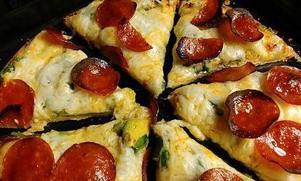 CauliPower Crust Pizza