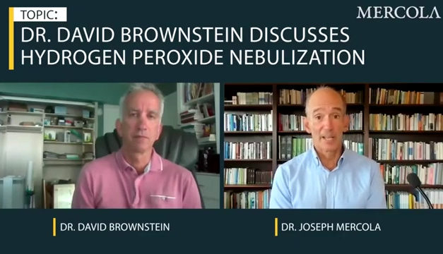 Dr Brownstein Dr Mercola Food Grade Hydrogen Peroxide Nebulization