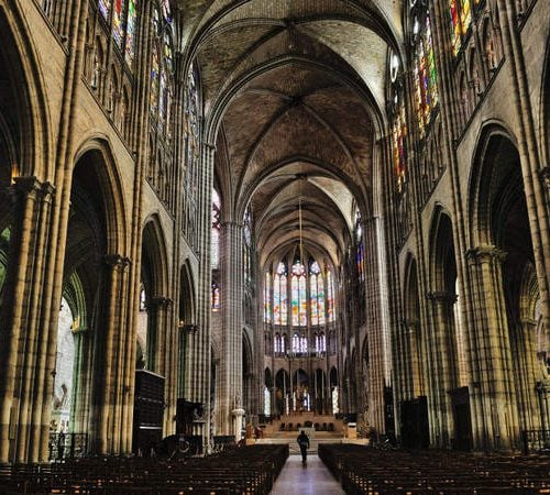 photo Basilique cathedrale Saint Denis