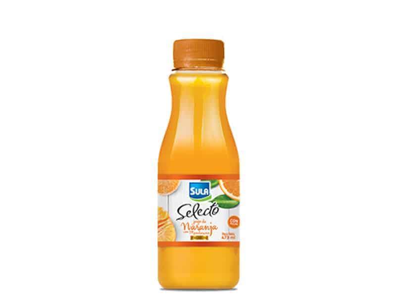 Jugo selecto de naranja con mandarina