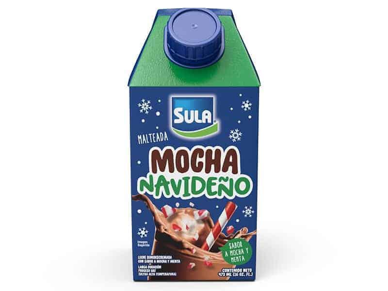 Malteada Mocha Navideño