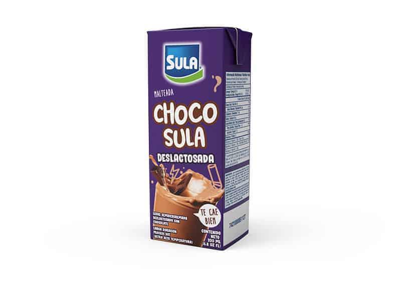 Malteada deslactosada chocosula | Baja en azúcar y grasa