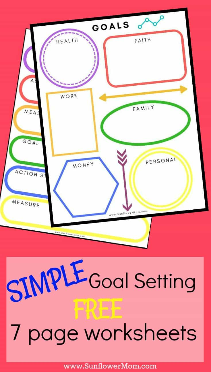 Simple goal setting doesn't have to be complicated. Take charge of your life next year. Review each month. It doesn't have to be complicated. Get your FREE templates here.