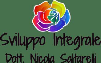 Logo dello Sviluppo Integrale con la rosa arcobaleno - Dott. Nicola Saltarelli