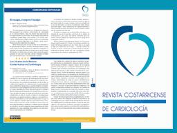 miniatura del artículo de Revista Costaricense de Cardiología