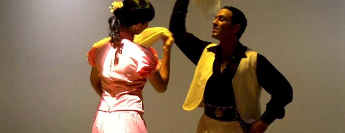 "Danze del Folklore argentino: ""La Zamba"", La ""zamba carpera"", ""zamba alegre"""