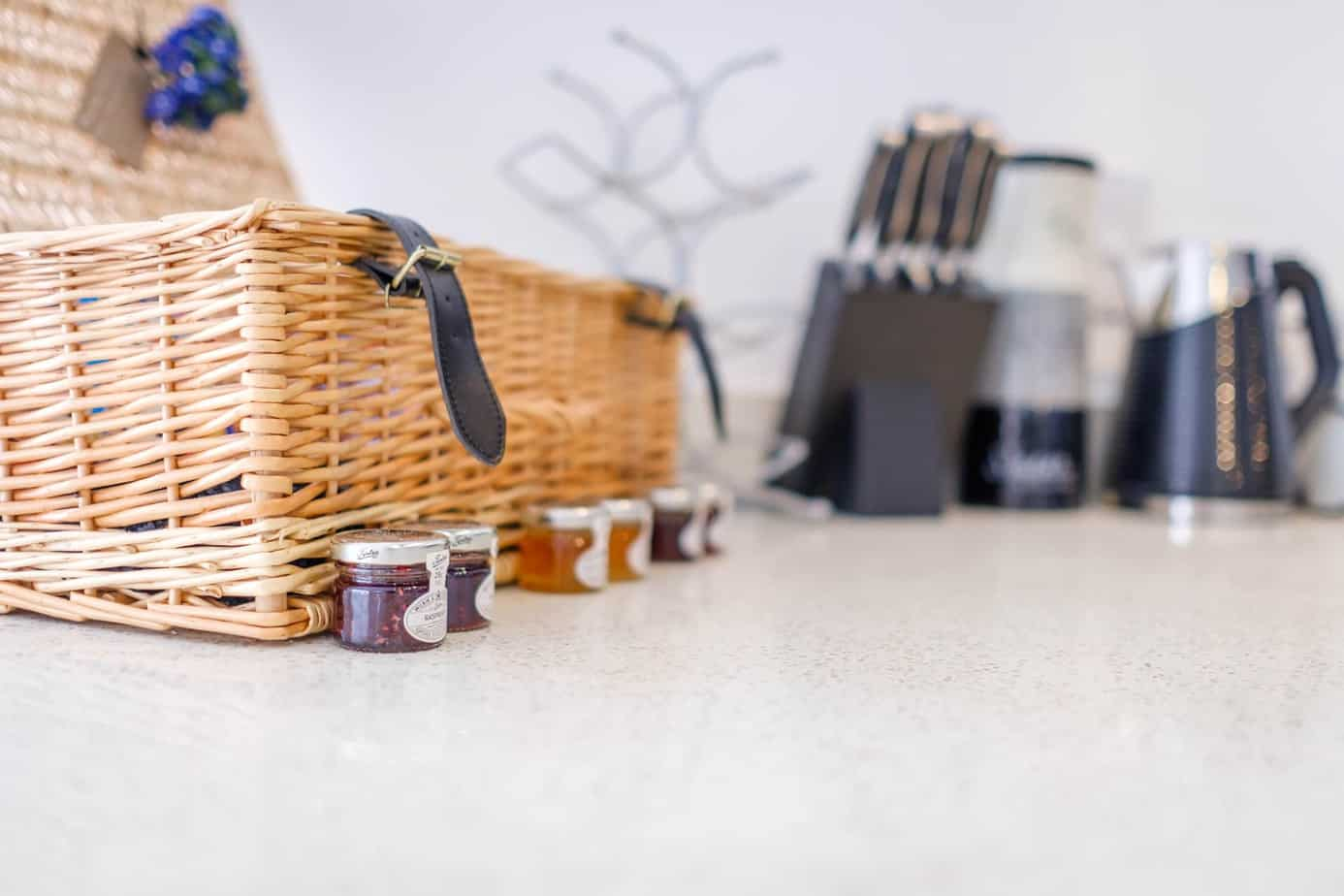 Tailored Stays welcome hamper