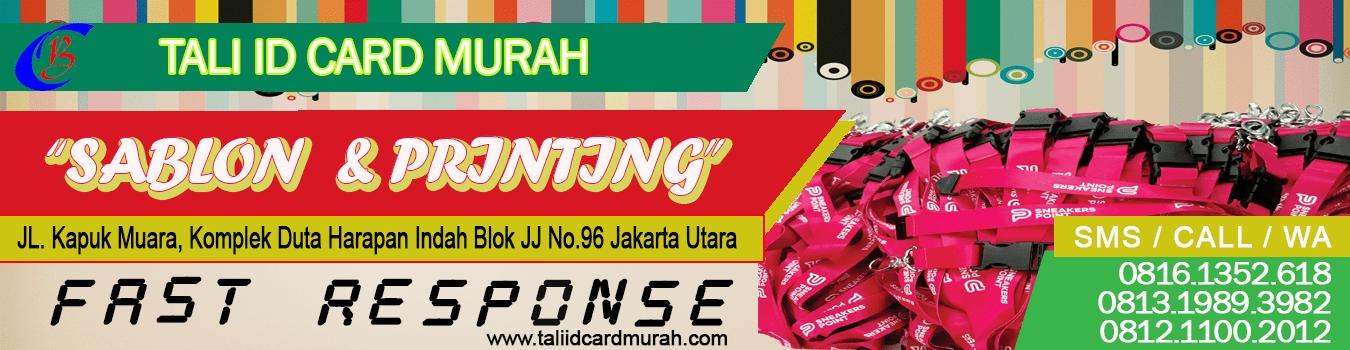 Tali ID Card Murah Tlp. 081211002012