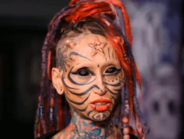 Face Tattoos Women