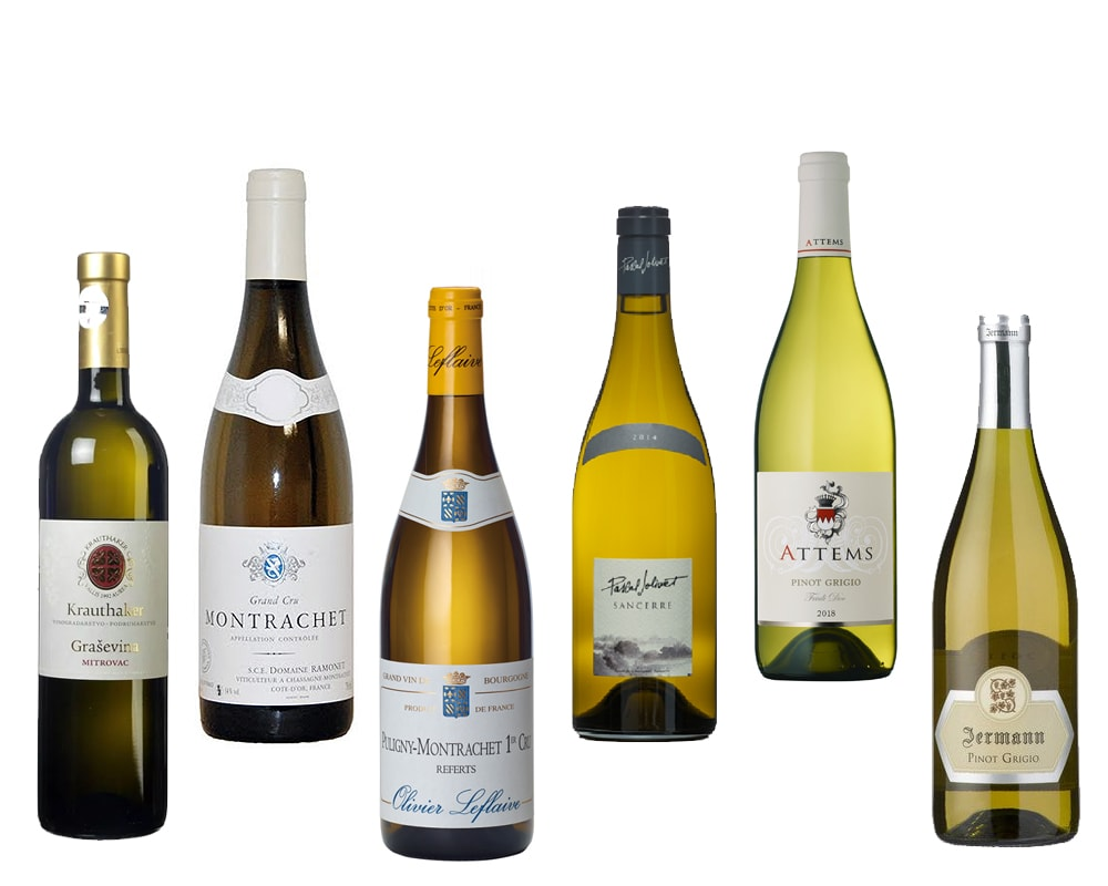 Continental white wines