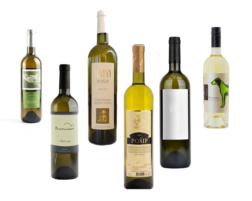 Croatian white wine