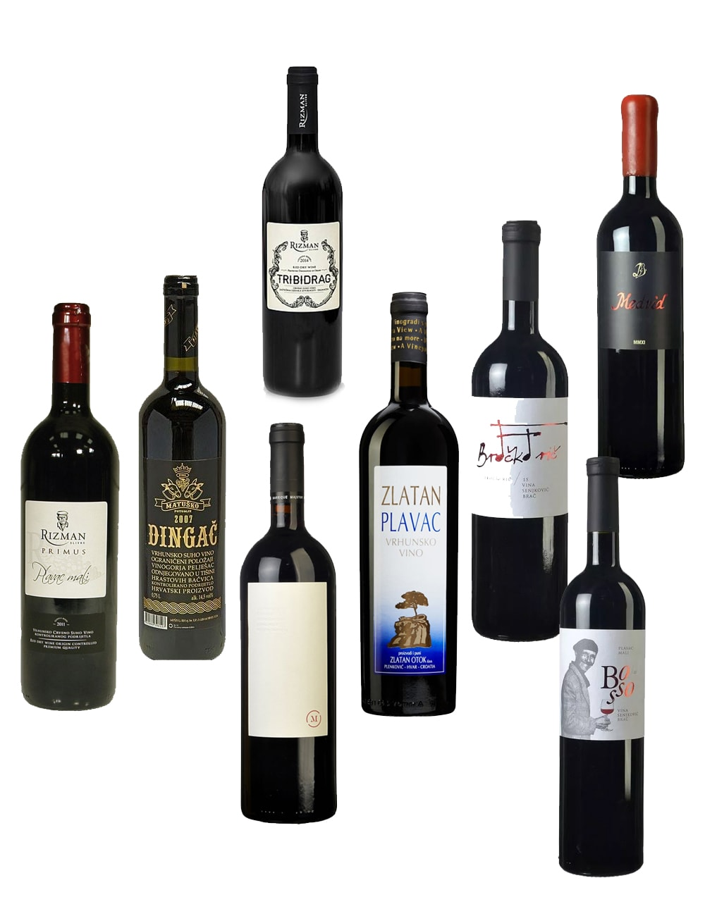 Croatian red wine