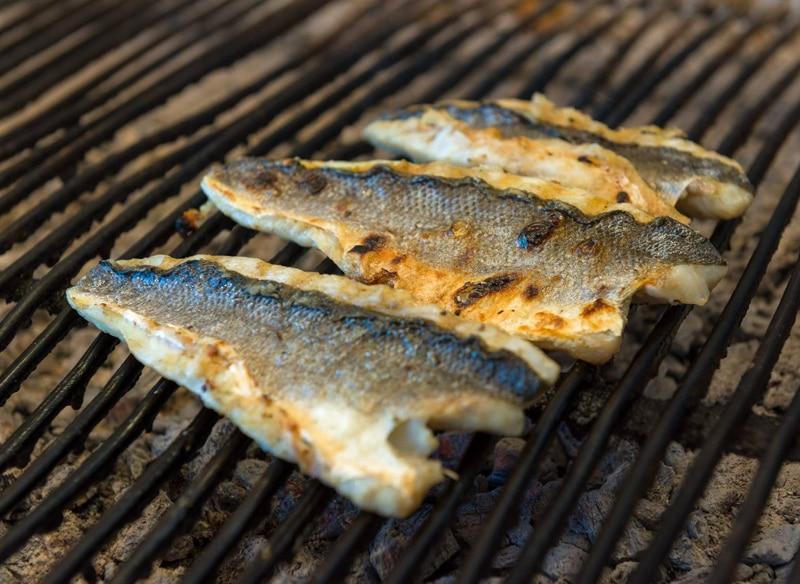 Sea bass steak 250g
