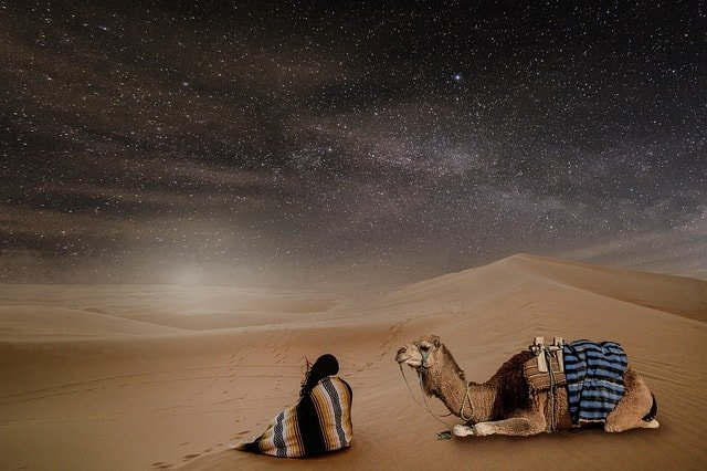best stargazing places include deserts like the Sahara