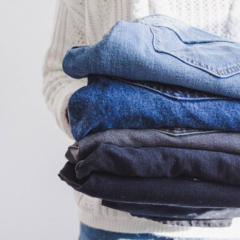 Textilreinigung-Jeans