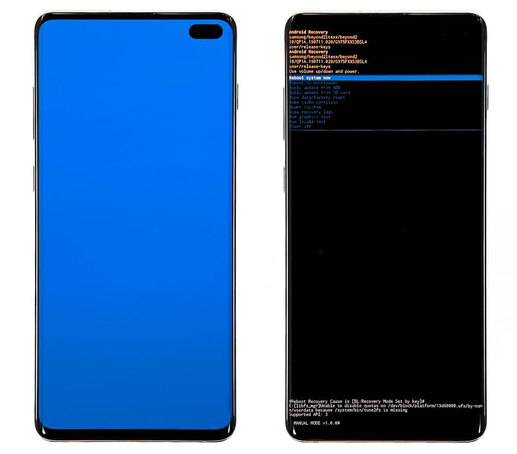 hard reset galaxy s10 recovery mode