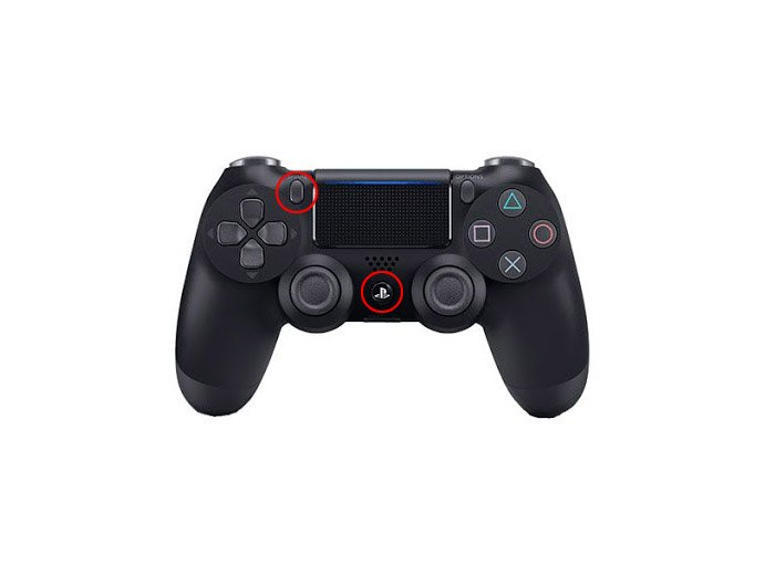 ps4 wireless controller pairing mode