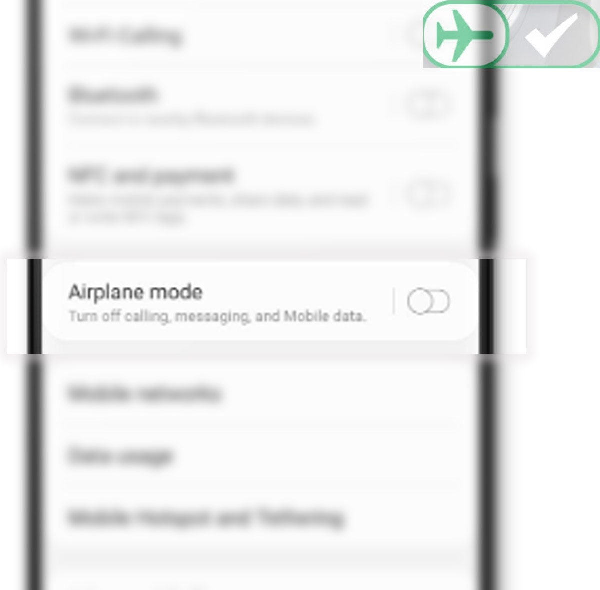 fix galaxy s20 overheating problem - enable airplane mode
