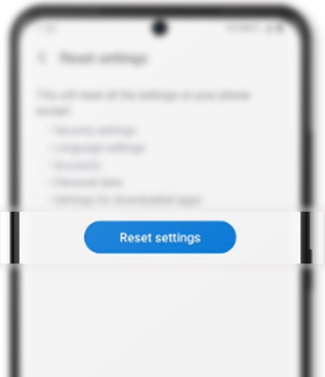 fix galaxy s20 overheating problem - reset settings