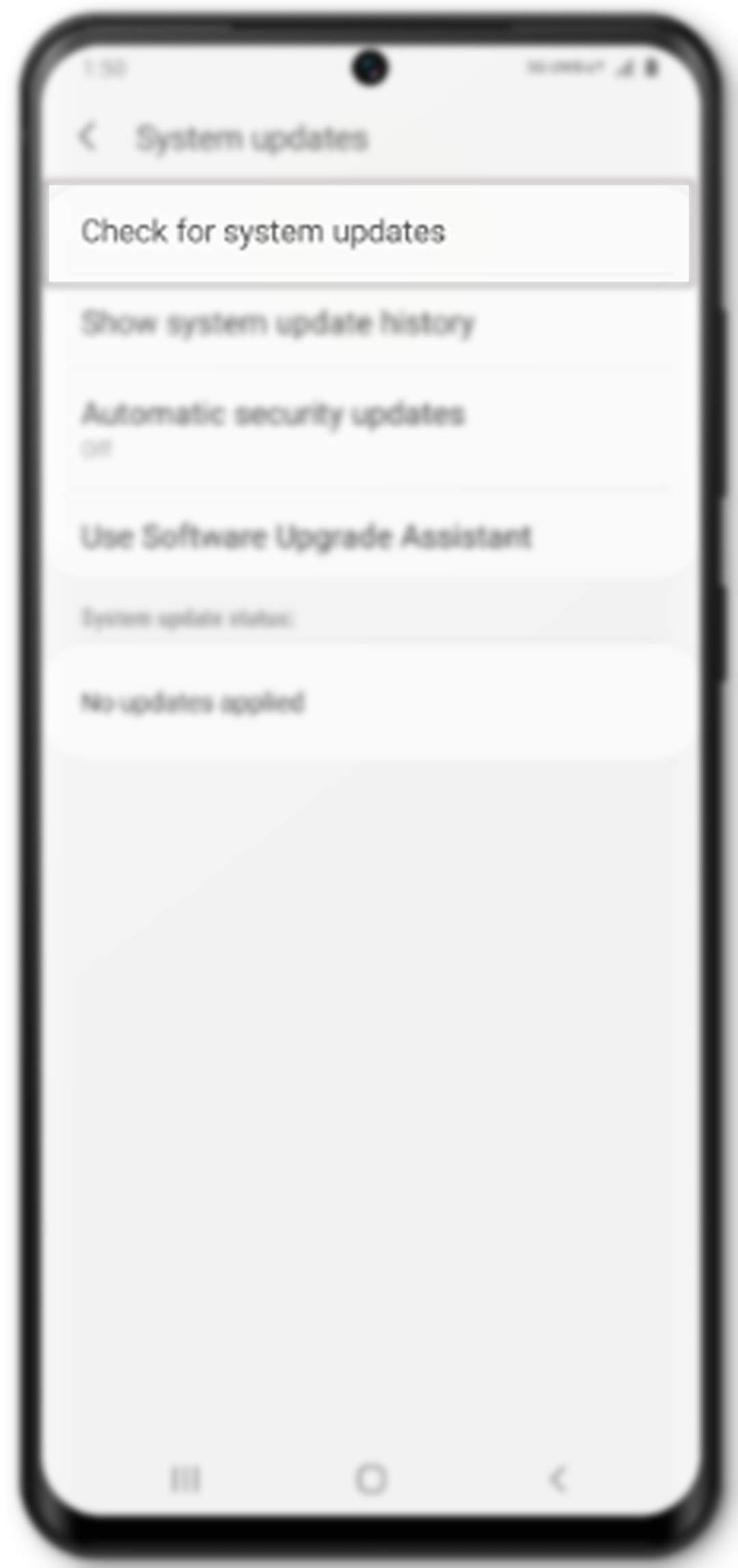 galaxy s20 auto rotate not working - update phone software