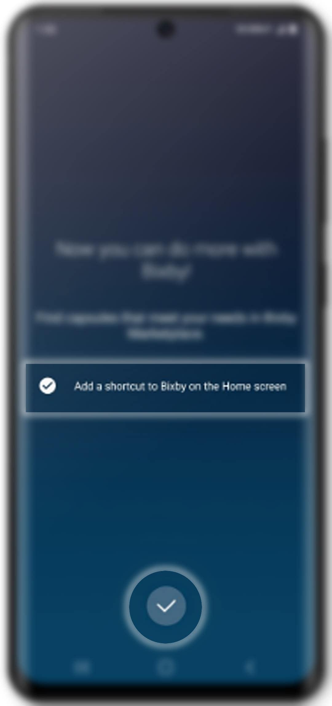 how to set up bixby on galaxy s20 - finish setup bixby