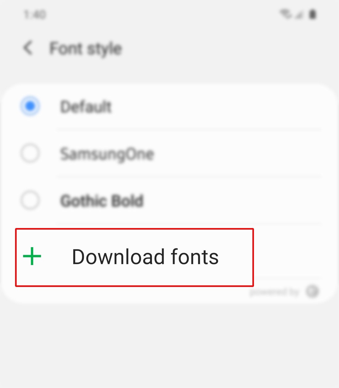 download new fonts on galaxy s20 - download fonts