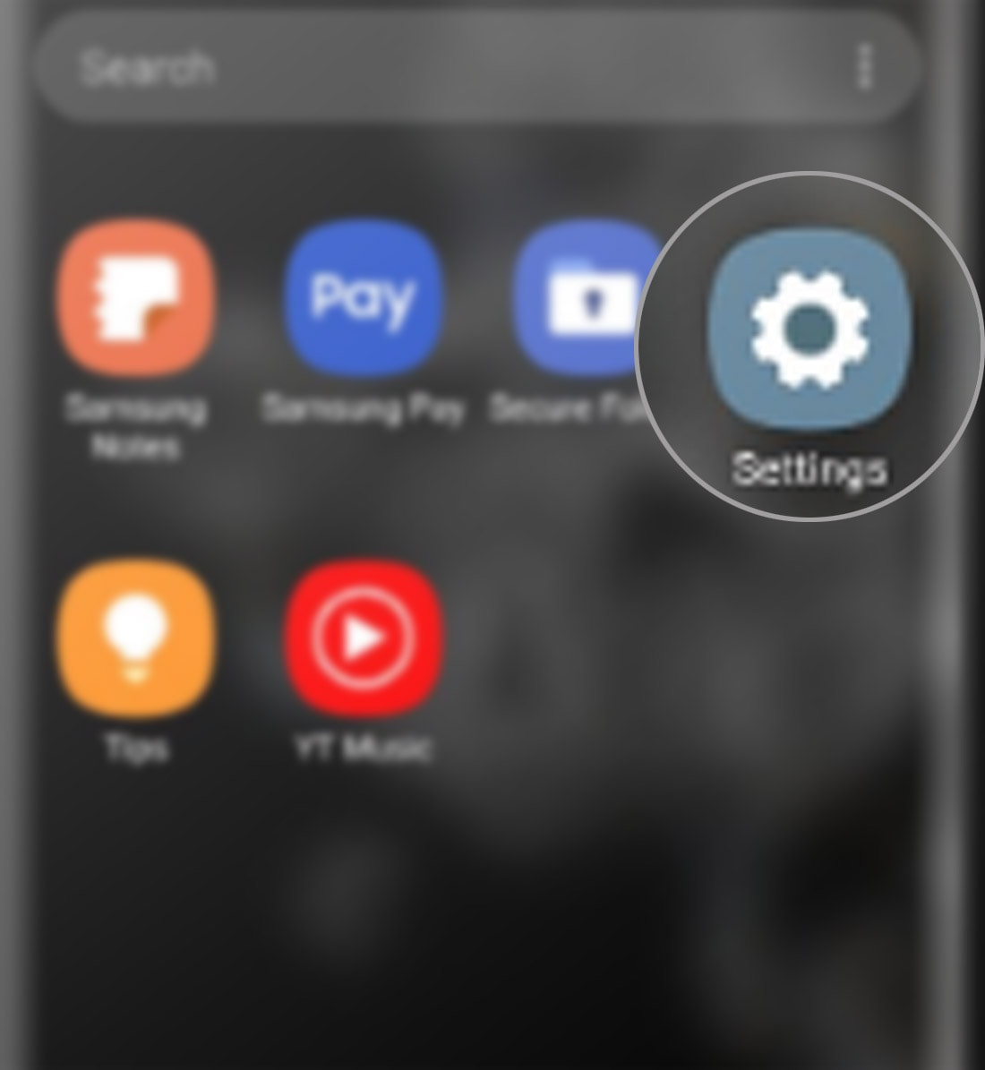 transfer files on galaxy s20 with samsung smart switch - settings