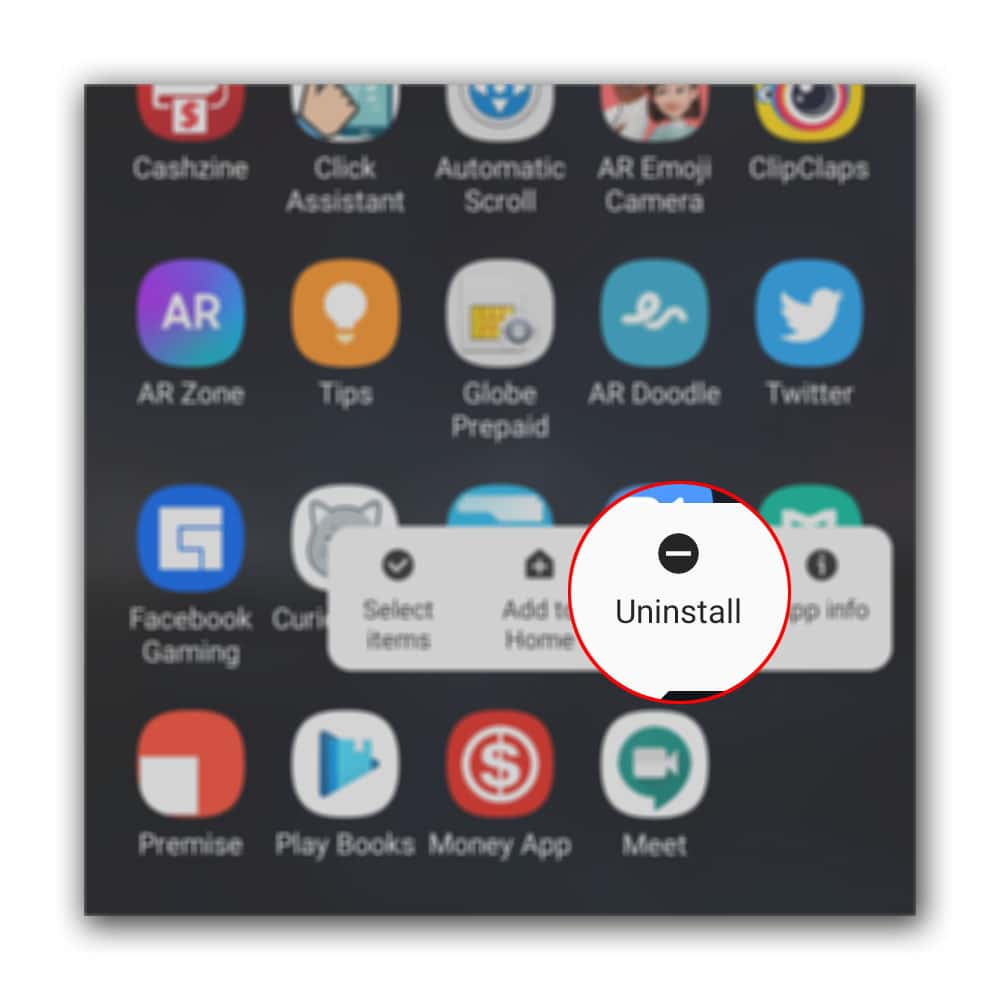 uninstall google meet