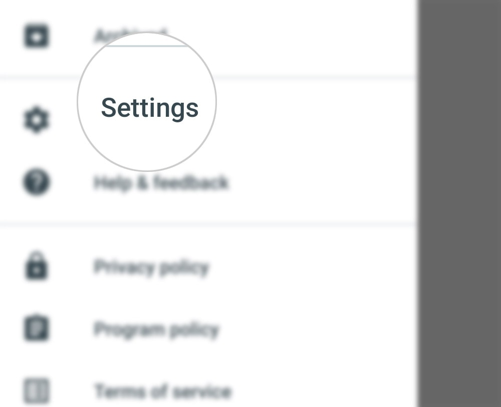 customize hangouts invites on galaxy s20 - settings