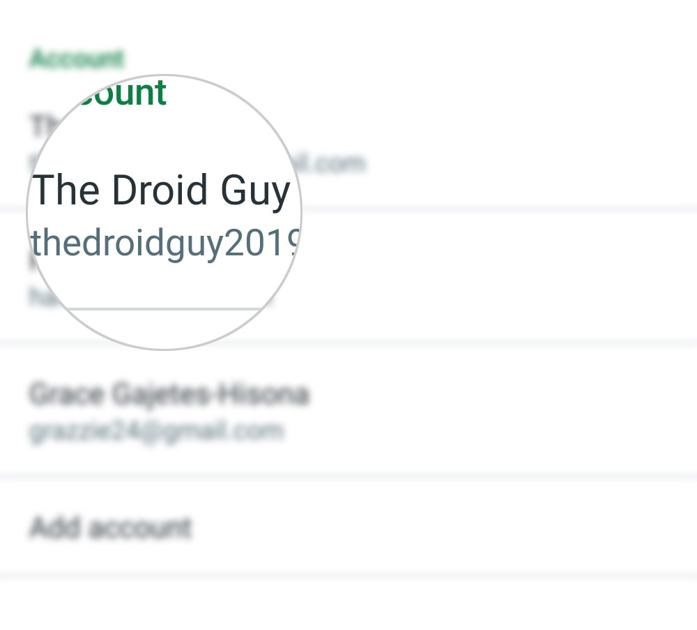 customize hangouts invites on galaxy s20 - tdg account