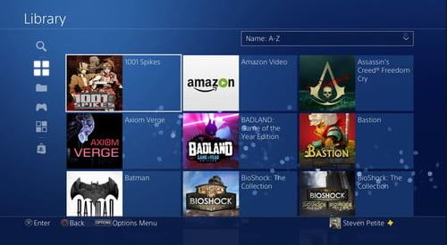 PS4 library - Free Game Cheats